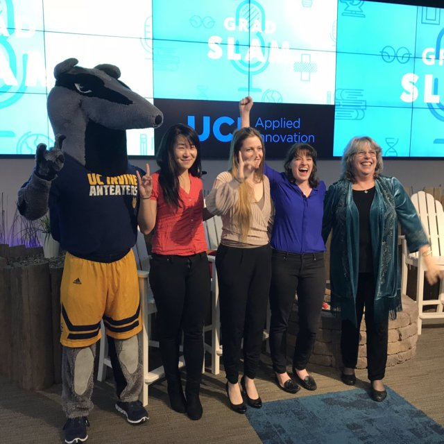 From @UCIrvineGD on Twitter: We couldn't ask for a better way to celebrate International Women's Day than with our talented #GradSlam winners!